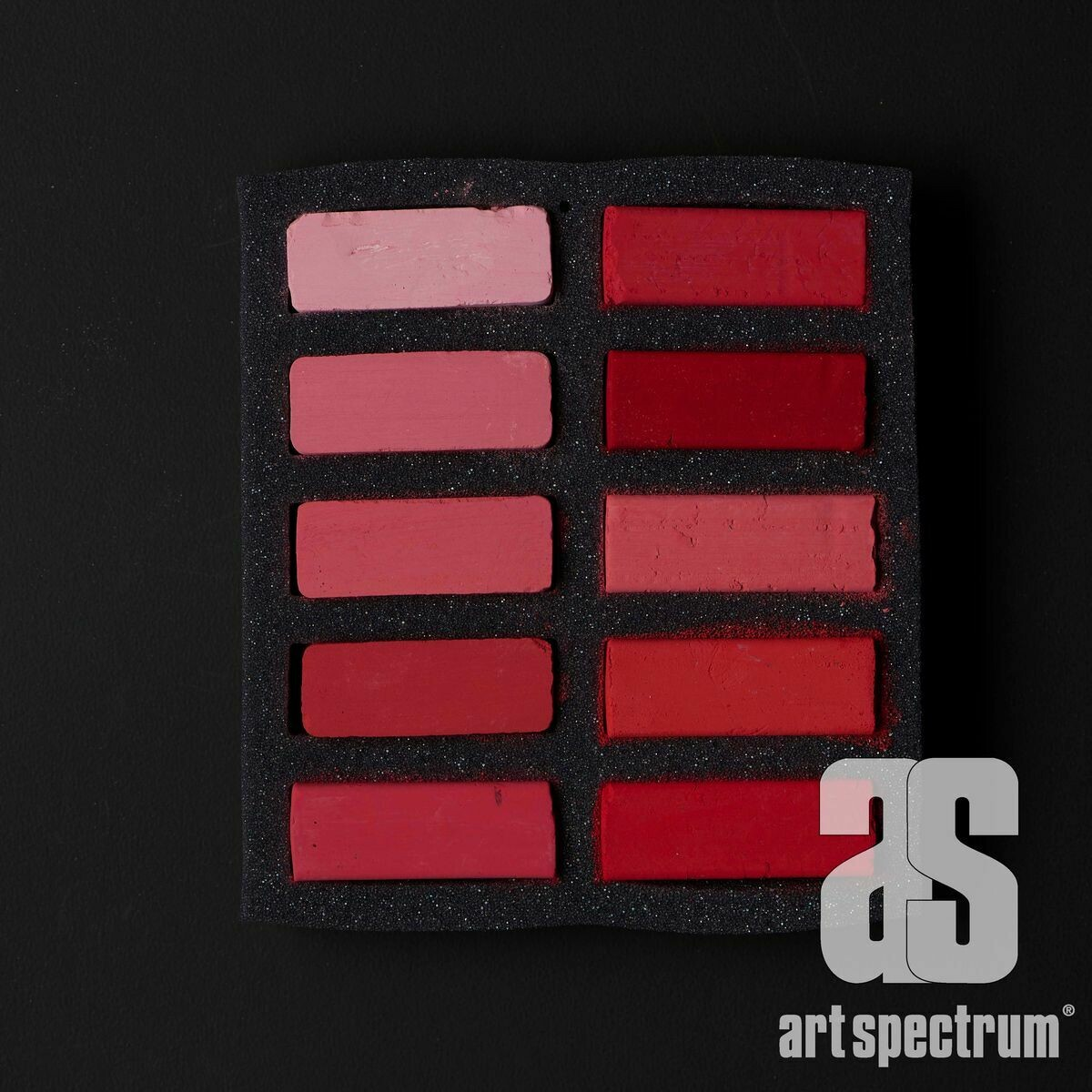 Art Spectrum Extra Soft Square Pastels - Reds - Set of 10