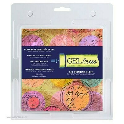"Gel Press 6"" x 6"" Plate Mono Printing Plate"