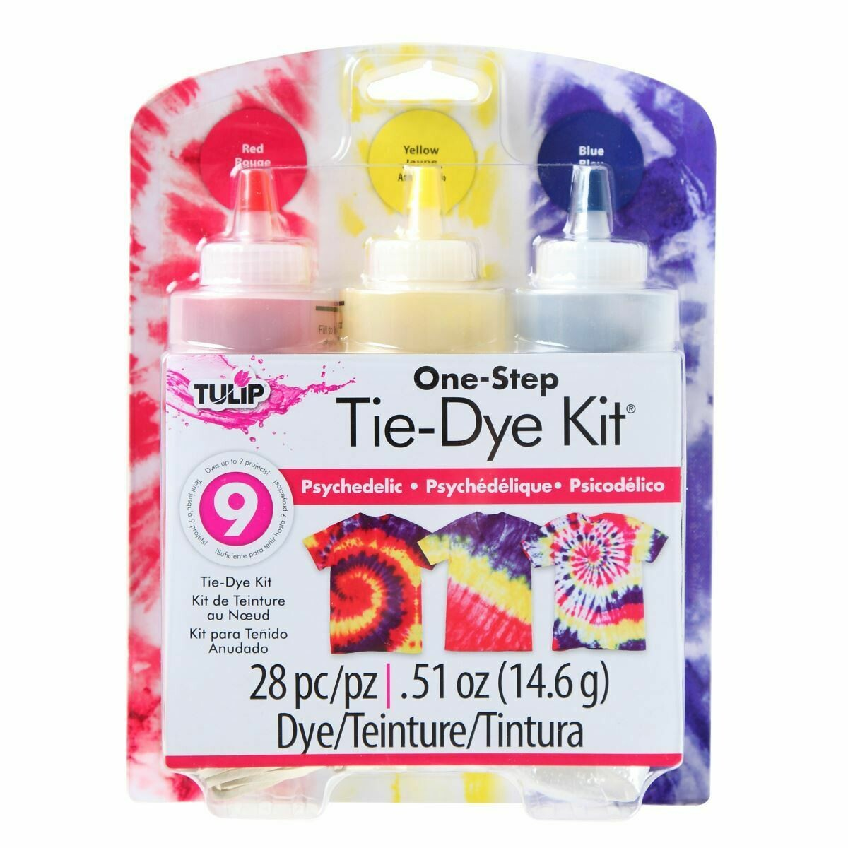 Tulip - Psychedelic 3-Color Tie-Dye Kit