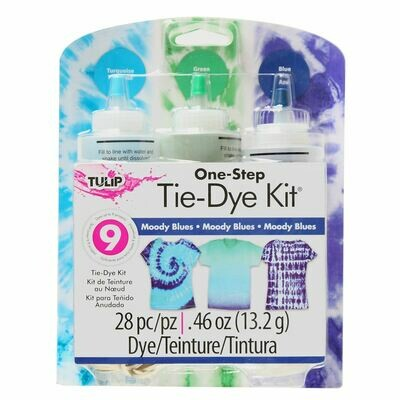 Tulip - Moody Blues 3-Color Tie-Dye Kit
