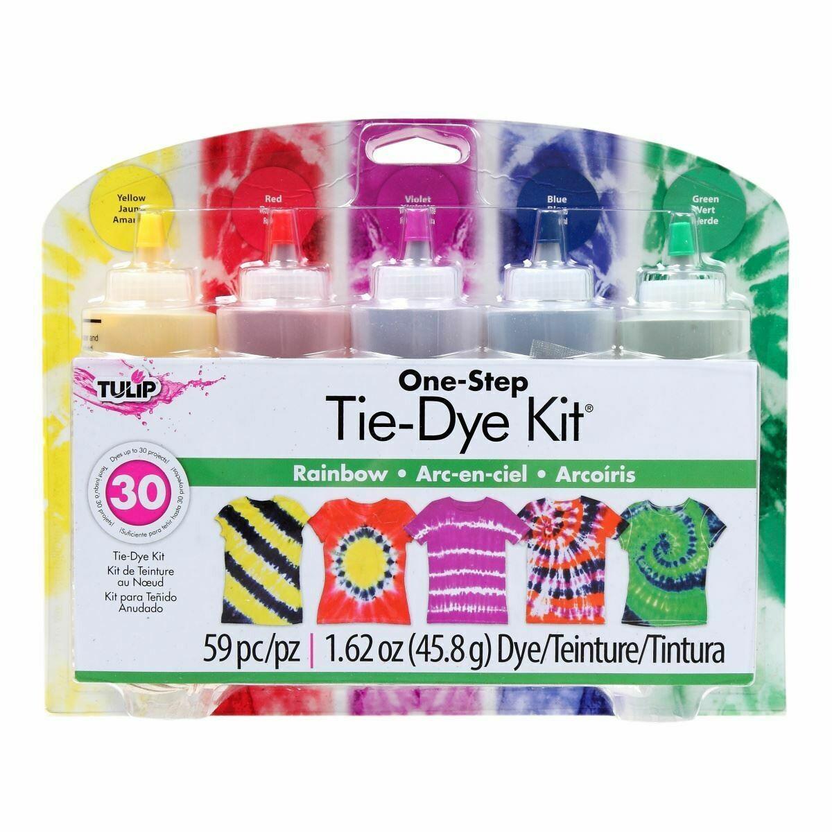 Tulip - 5 colour - Rainbow - Tie-Dye Kit