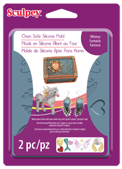Sculpey® Silicone Bakeable Mold – Whimsy