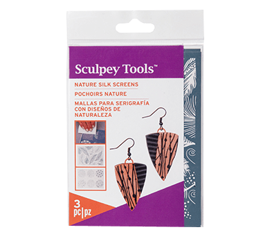 Sculpey® Silk Screen - Nature (Polymer Clay)