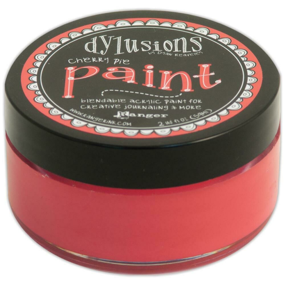 Dylusions Blendable Acrylic Paint 2oz - Cherry Pie