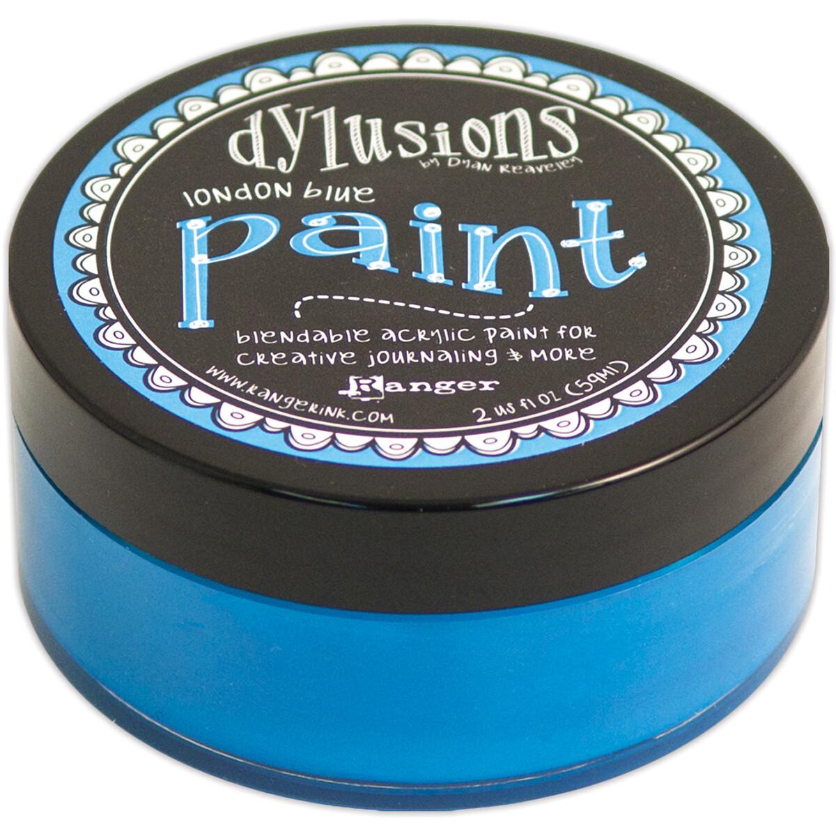 Dylusions Blendable Acrylic Paint 2oz - London Blue