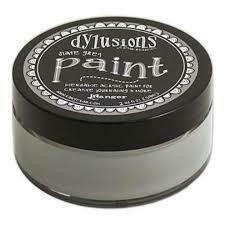 Dylusions Blendable Acrylic Paint 2oz - Slate Grey