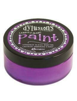 Dylusions Blendable Acrylic Paint 2oz - Crushed Grape