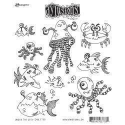 Dyan Reaveley's Dylusions Cling Stamp - Under the Sea