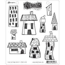 Dyan Reaveley's Dylusions Cling Stamp - Right Up Your Street
