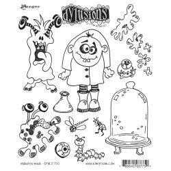 Dyan Reaveley's Dylusions Cling Stamp - Monster Mash