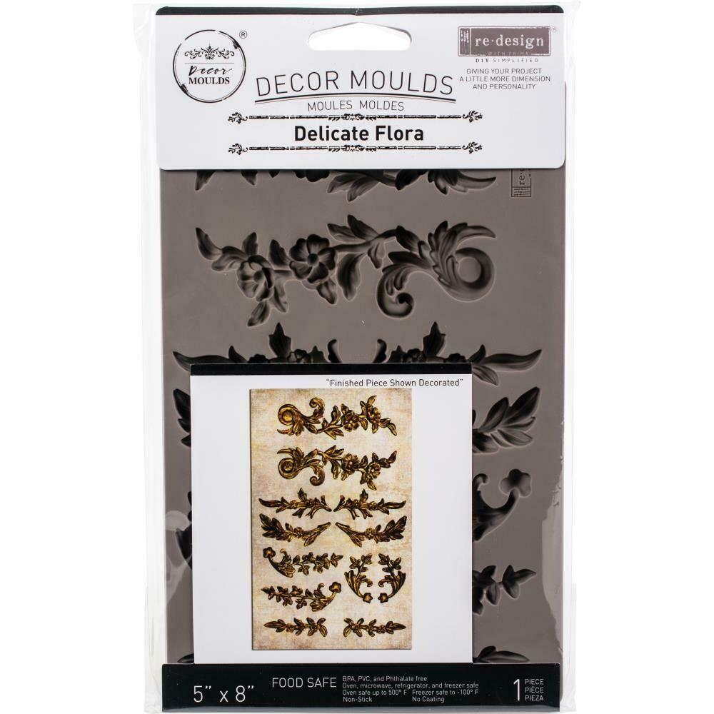 Prima Redesign Mould - Delicate Flora