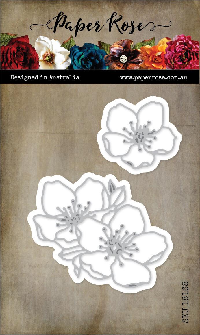 Paper Rose Metal Die- Blossom