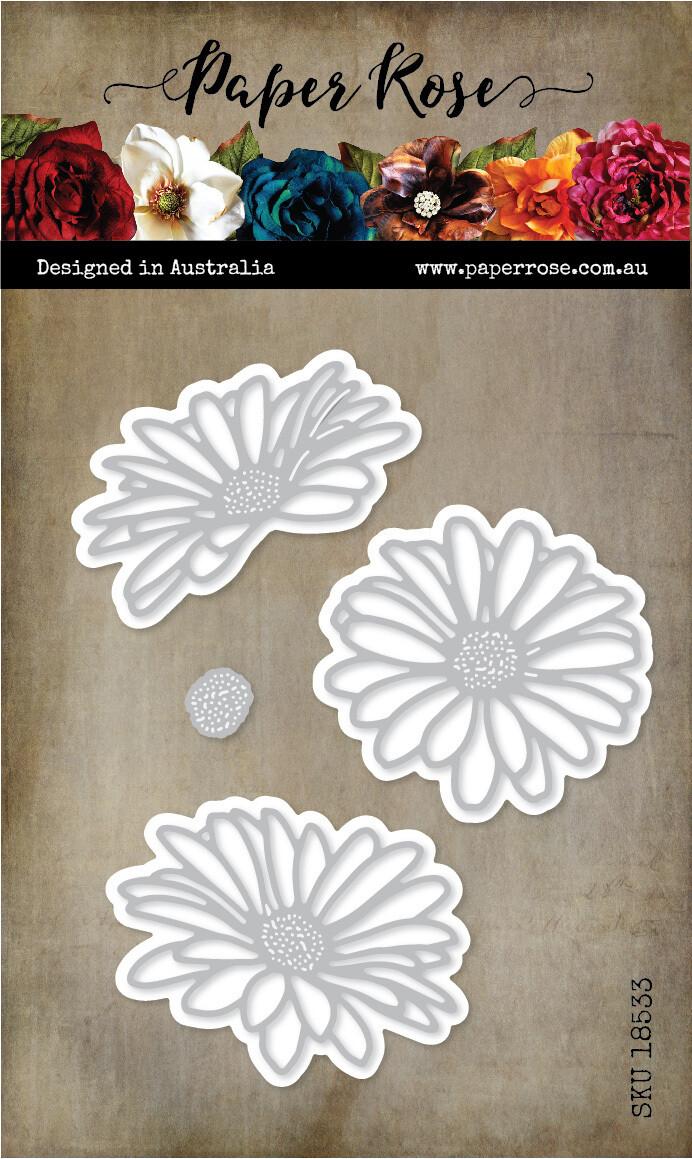 Paper Rose Metal Die- Daisy Flowers