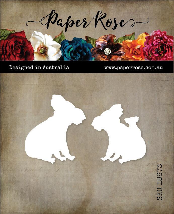 Paper Rose Metal Die- Koalas