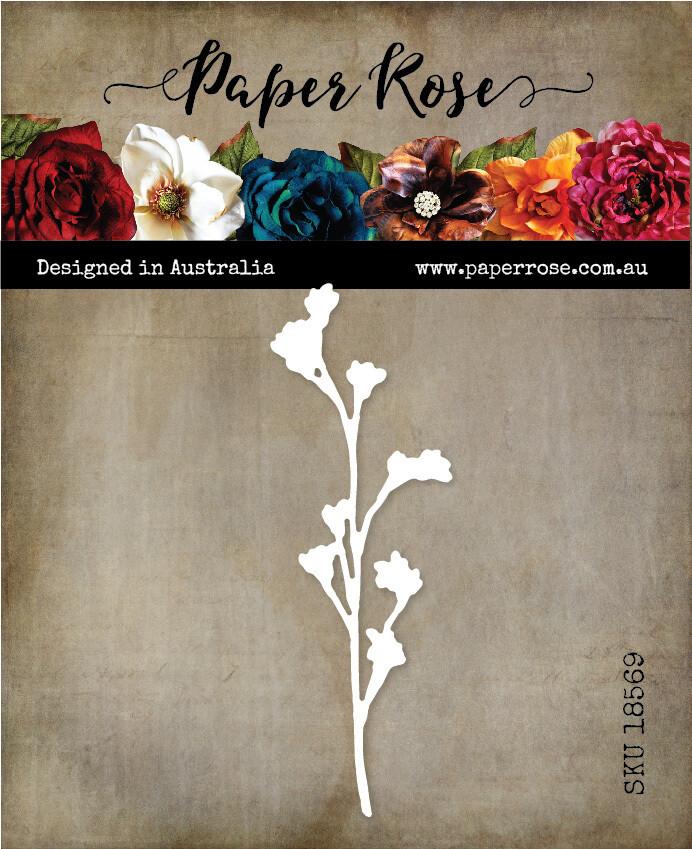 Paper Rose Metal Die- Wildflower 6