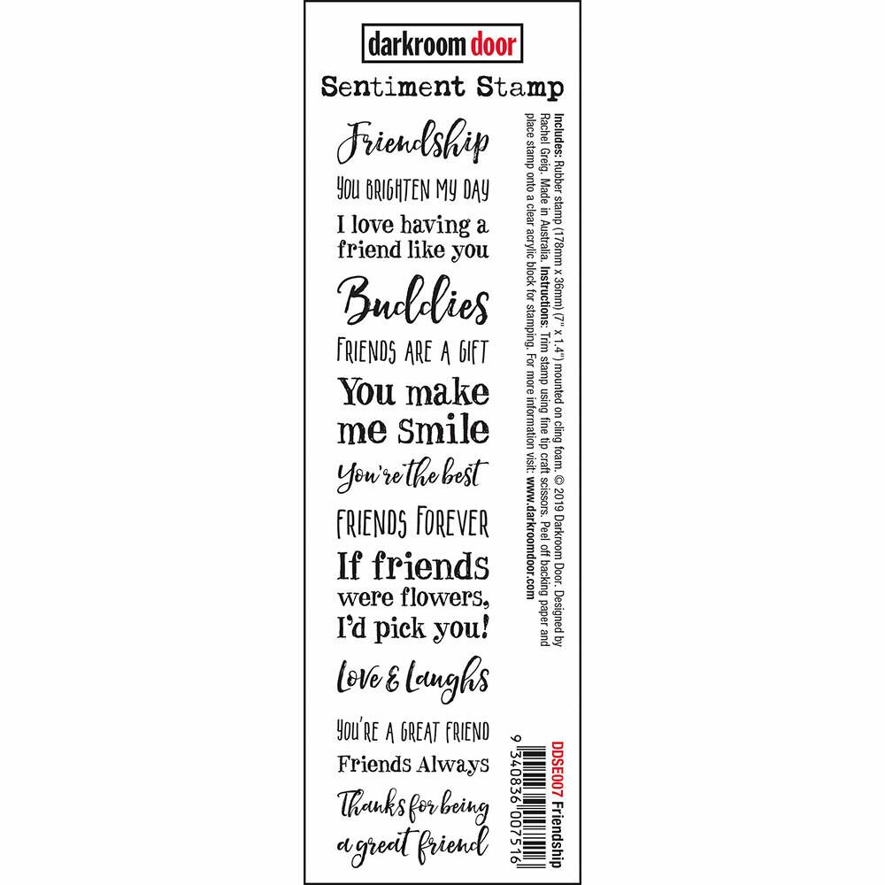Sentiment Stamp - Friendship