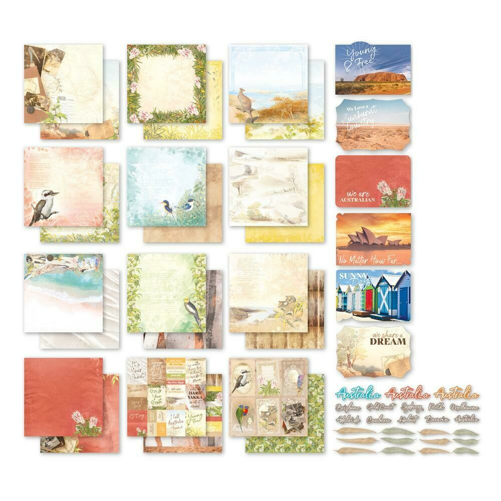 Sweeping Plains - Couture Creations - 12 x 12 Collection Pack