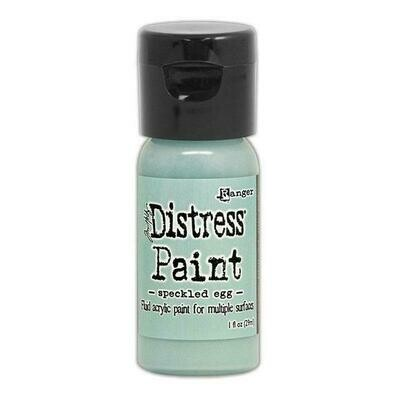Tim Holtz Distress® Paint Flip Top 1oz  - Speckled Egg