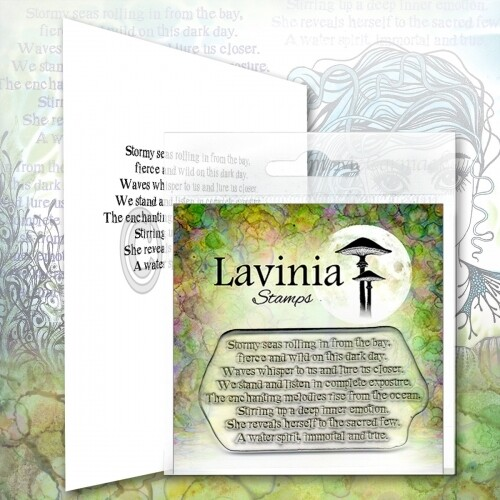 Lavinia Stamps - Water Spirit Verse
