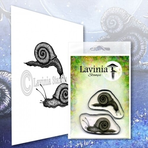Lavinia Stamps - Snail Set