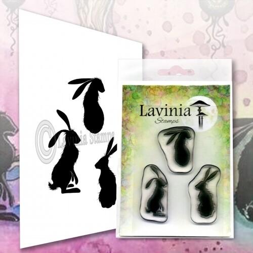Lavinia Stamps - Wild Hares Set