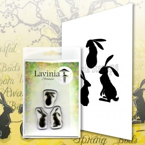 Lavinia Stamps - Wild Hares Set Small