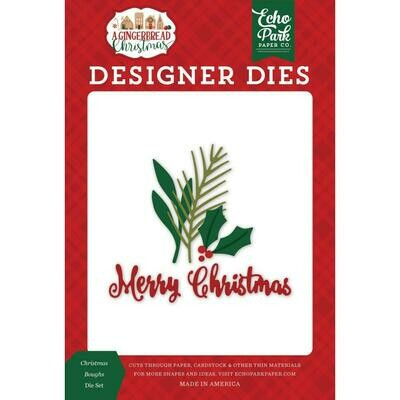 A Gingerbread Christmas - Christmas Boughs Die Set