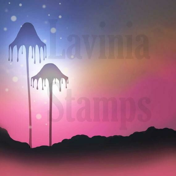 Lavinia Stamps Scene-Scapes - Midnight Mist