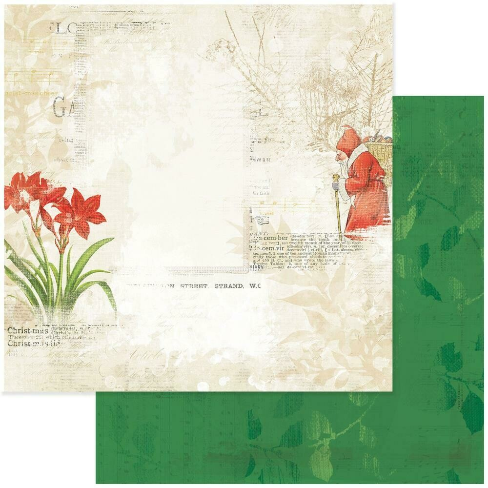 """Vintage Artistry Noel Double-Sided Cardstock 12""""X12"""" - Tradition"""