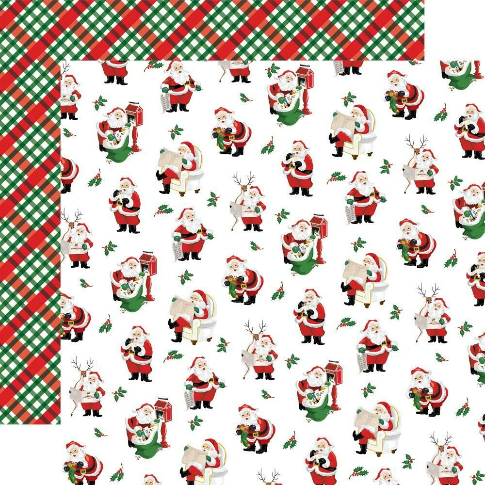 "Dear Santa Double-Sided Cardstock 12""X12"" - Mail for Santa"