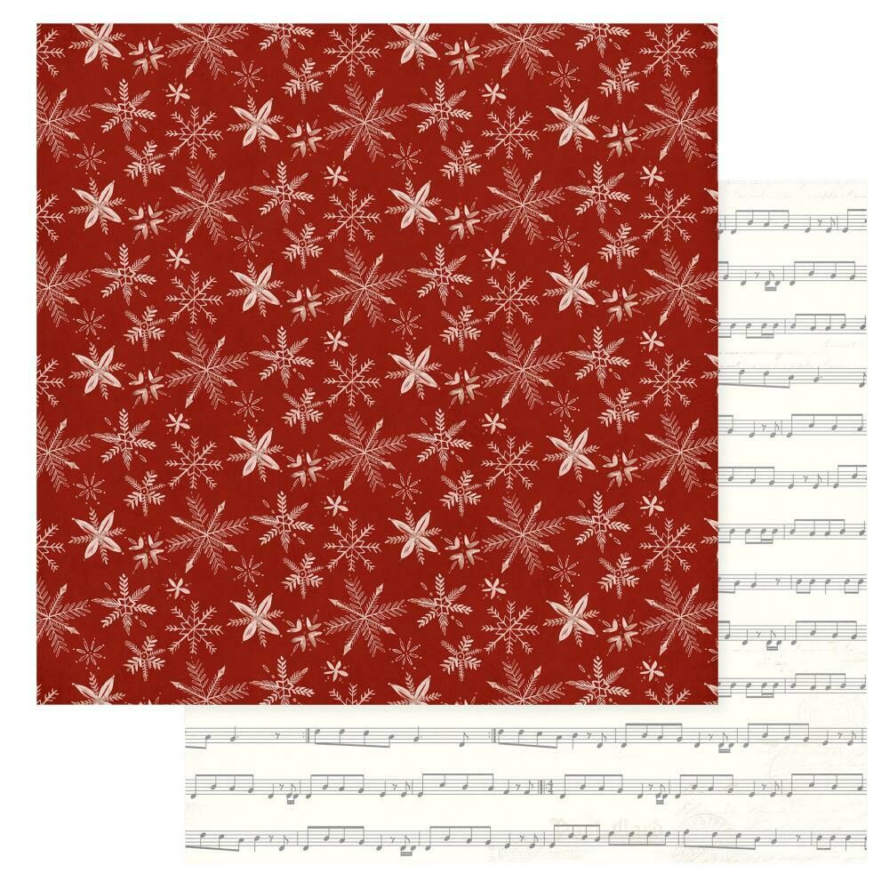 "Christmas Cheer Double-Sided Cardstock 12""X12"" - Silent Night"
