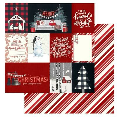 Christmas Cheer Double-Sided Cardstock 12