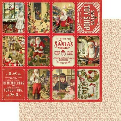 A Magical Christmas Double-Sided Cardstock 12