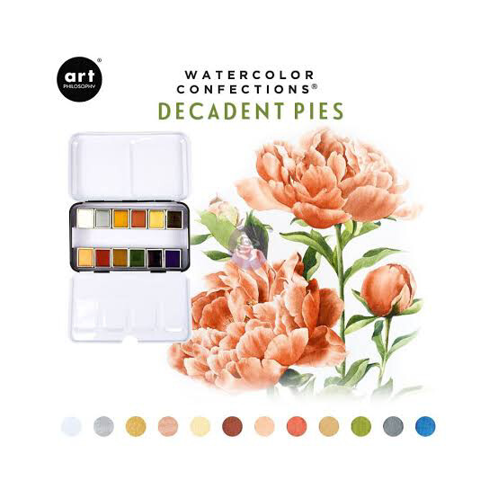 Prima Marketing Watercolour Confections- Decadent Pies