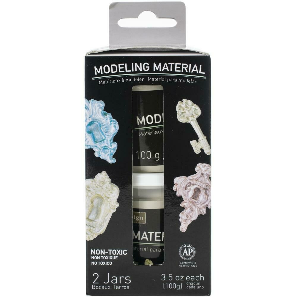 Prima Marketing Re-Design Air Dry Modeling Material 2/Pkg
