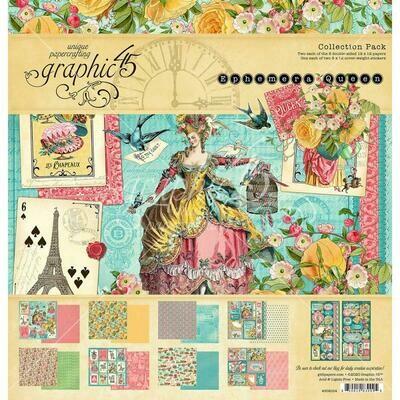 Ephemera Queen - Graphic 45 Collection Pack 12