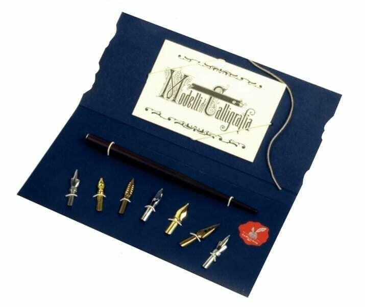 Calligraphy set with 7 nib