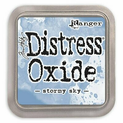 Distress Oxide Ink Pad - Stormy Sky