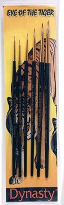 Dynasty - Eye Of The Tiger Synthetic Brush Set B
