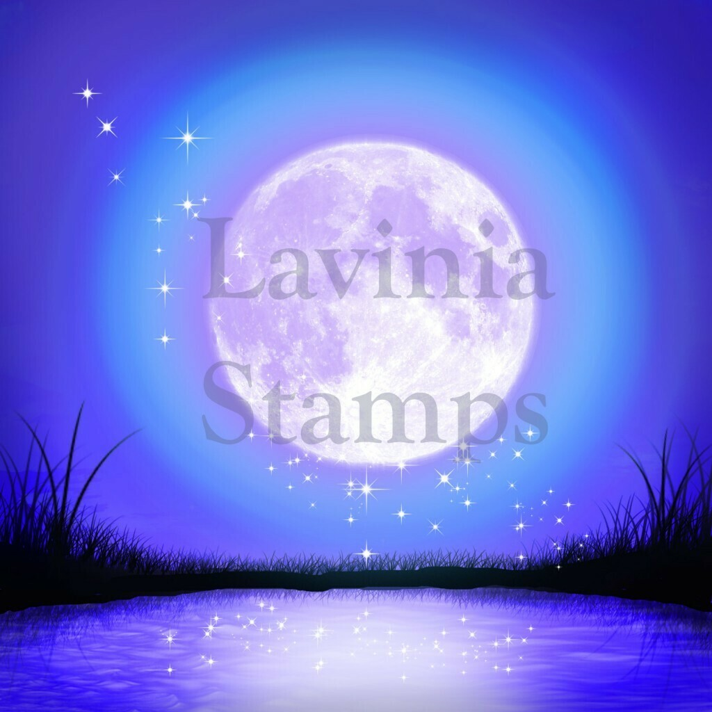 Lavinia Stamps Scene-Scapes - Moonlight Glow