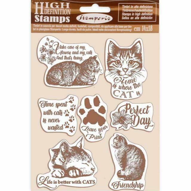 Cats Stamp Set - Lady Vagabond by Belinda Basson