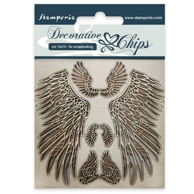Stamperia Decorative Chips - Wings