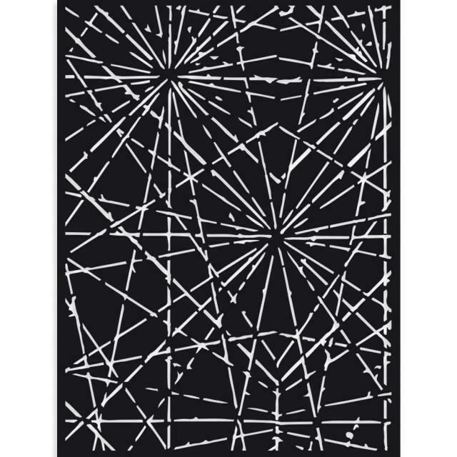 Stamperia Sir Vagabond Cracks - Stencil 15x20cm