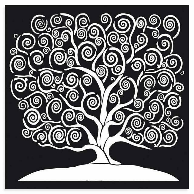 Stamperia Tree of Life - Thick Stencil 30x30cm
