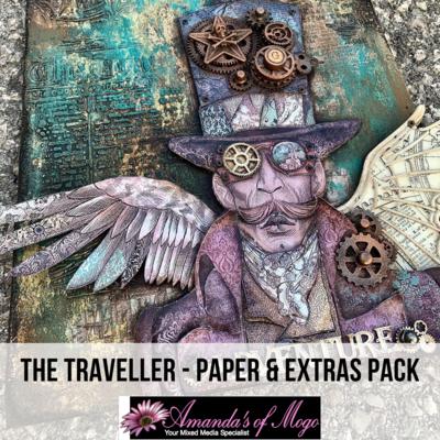 Antonis Tzanidakis' The Traveller - Paper & Extras Pack
