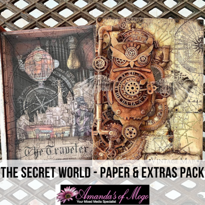 Antonis Tzanidakis' The Secret World - Paper & Extras Pack