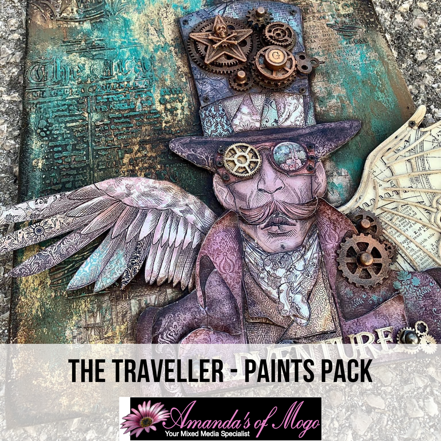 Antonis Tzanidakis' The Traveller - Paints Pack