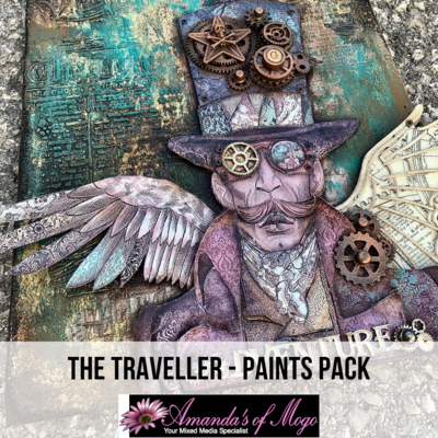 Antonis Tzanidakis' The Traveller - Paints Pack
