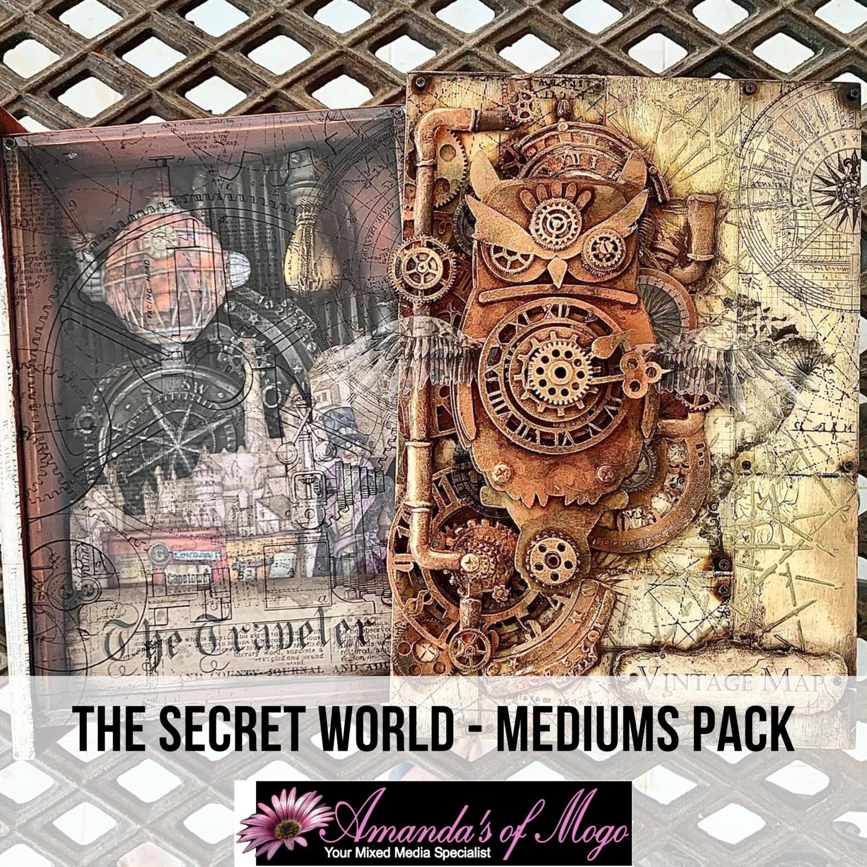 Antonis Tzanidakis' The Secret World - Medium Pack