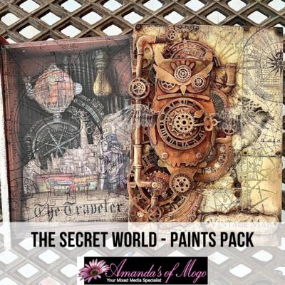 Antonis Tzanidakis' The Secret World - Paints Pack